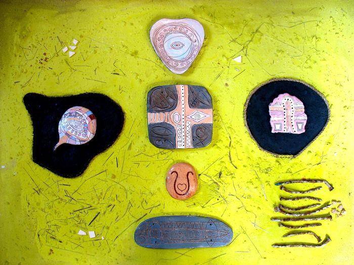 пано декорация колаж