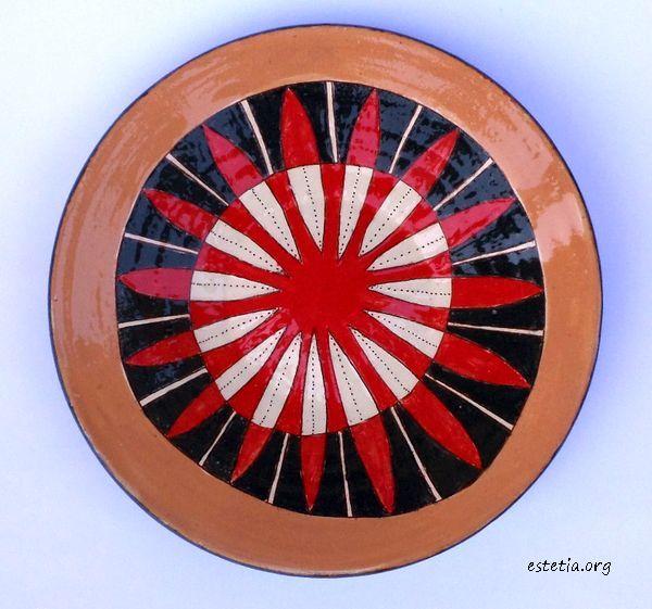 чинии за украса - стенна керамика