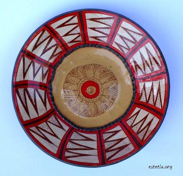 оригинална стенна чиния - декоративни чинии
