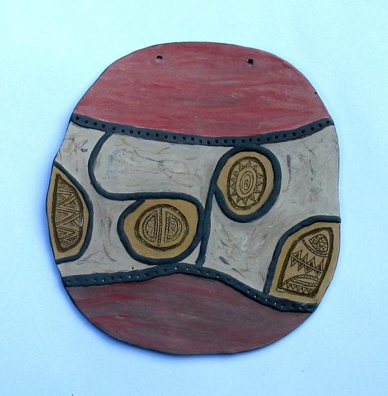 пано за стена - керамична декорация