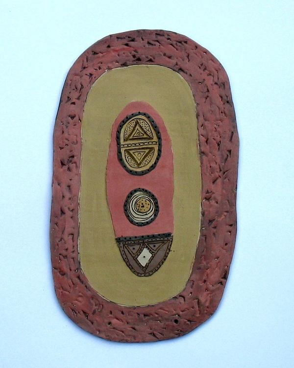 художествена керамика - стенно пано