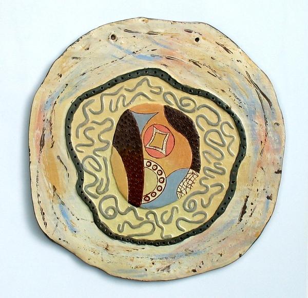 декоративно пано - авторска керамика