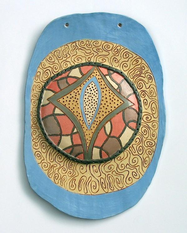 глинено пано - декорация за стена