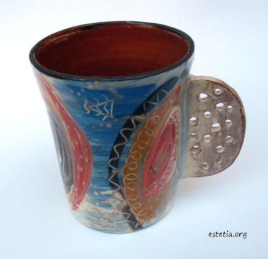 чаша - абстрактна украса
