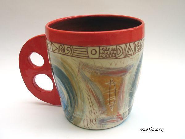 артистични чаши оригинален подарък - ръчна изработка