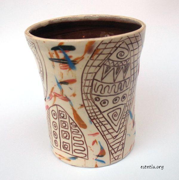 керамична чаша - уникат