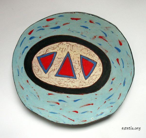 керамика - функционална оригинална чиния