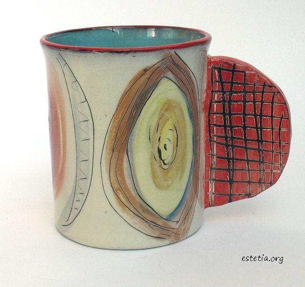 чаша керамика - оригинален подарък