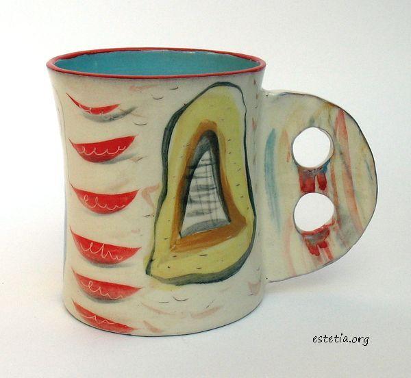 арт чаша ръчна изработка - оригинални подаръци
