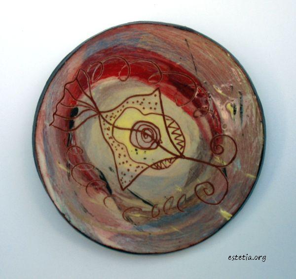 керамична декорация с магнитче