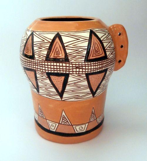 керамични съдове - ваза уникат