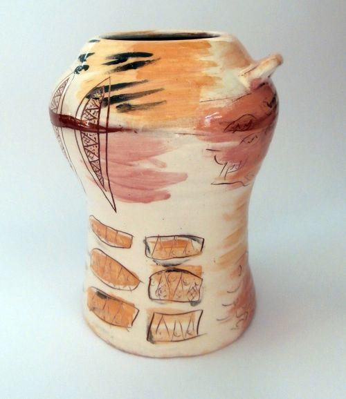 ваза - художествена керамика