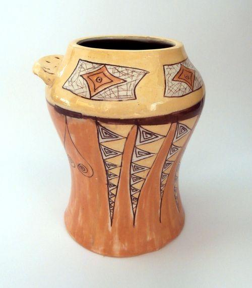 оригинална ваза - арт керамика