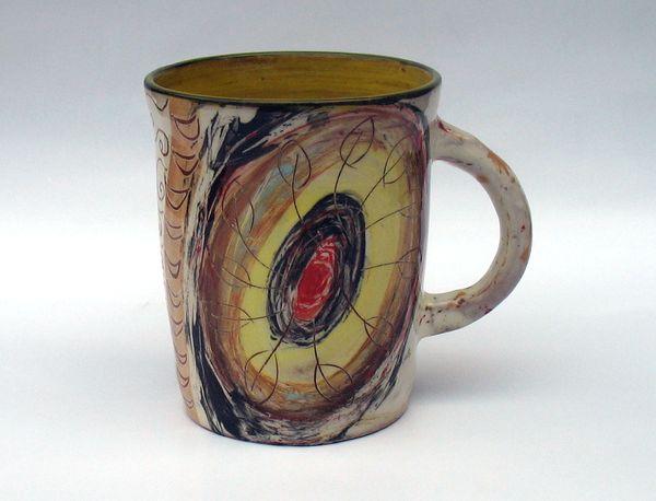 чаша художествена керамика