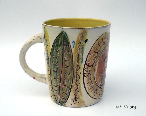 арт чаша за кафе и чай